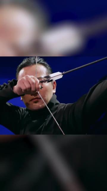 #百变达人 有人实验过,子弹很难转弯,但是箭真的可以做到!刘宇宁都没敢看潘玮柏~