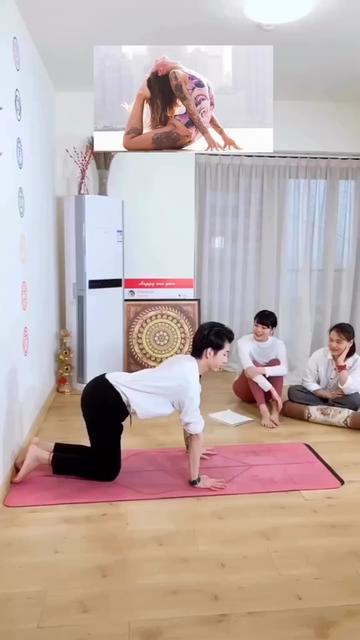 矫正驼背 消除富贵包 脊柱灵活度 @抖音小助手 #瑜伽 筋长一寸 寿延十年