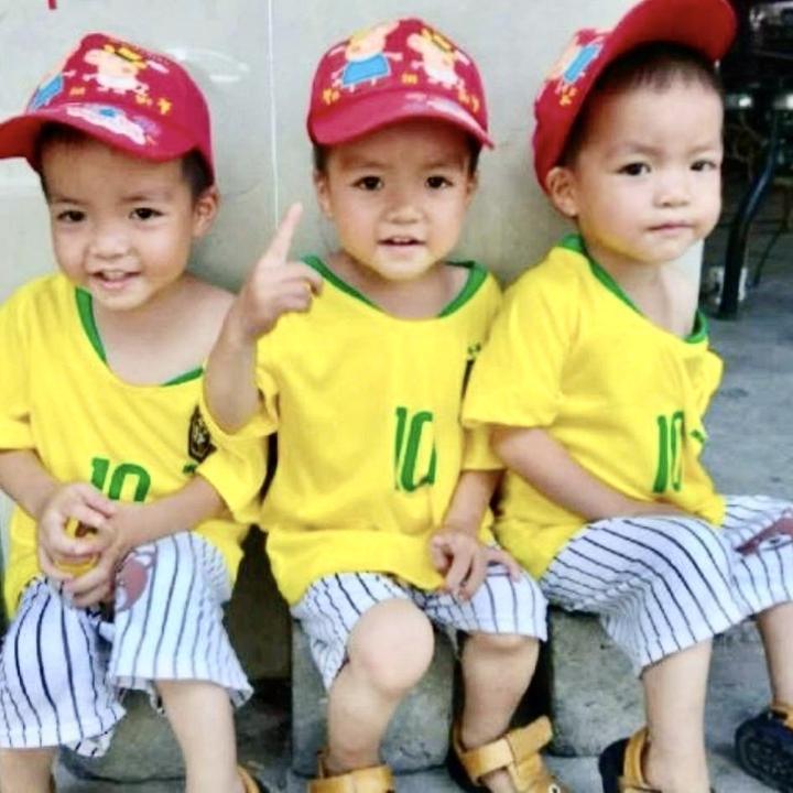 三胞胎平安福