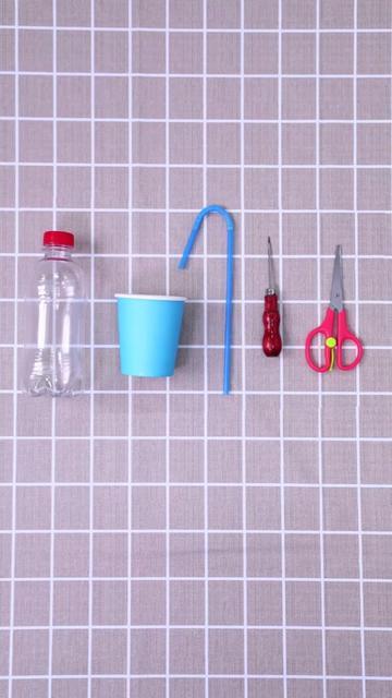 自制饮水机,终于不用追着让孩子喝水了#亲子 #创意 #手工 @抖音小助手